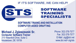 STS Business Card Design